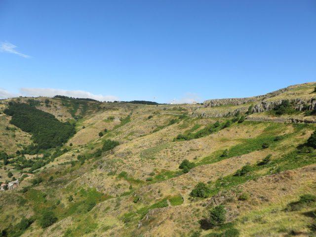 Les coulées basaltiques de St-Clément
