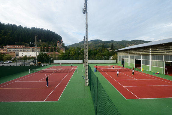 Court de tennis Le Cheylard