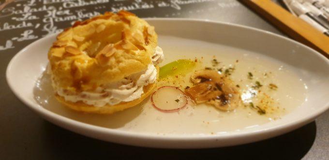 Petit Paris Best revisité au foie gras de canard