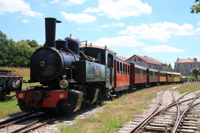Train vapeur 1
